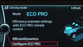 ECO PRO Mode | BMW Genius How-To