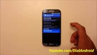 How to Factory Reset your Samsung Galaxy S4