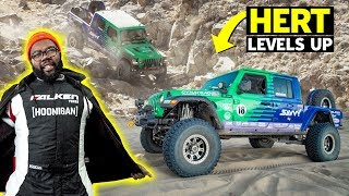 Off-road Brutality: Hert Conquers King of the Hammers with Justin Pawlak - Will Their Jeep Survive?
