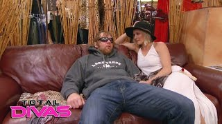 Renee Young and Dean Ambrose go suit shopping: Total Divas, April 12, 2017