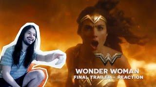 WONDER WOMAN FINAL TRAILER Reaction - Reação Trailer Final Mulher Maravilha