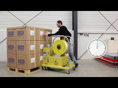HDS-25 PV3 Paletten-Umreifungsmaschine
