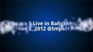 Maroon 5 Live in Bangkok 2012 October 8, 2012 @Impact Arena