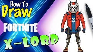 How To Draw Fortnite X Lord Skin Videos Infinitube