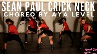 AYA DANCEHALL CHOREO ON CRICK NECK SEAN PAUL OFFICIAL VIDEOCLIP