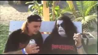 Abbath sings Hallowed be Thy Name
