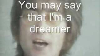 IMAGINE - John Lennon - (with LYRICS)