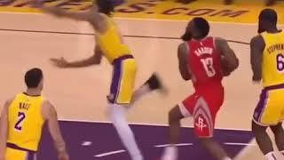 Lakers Vs Rockets Fight w/ music