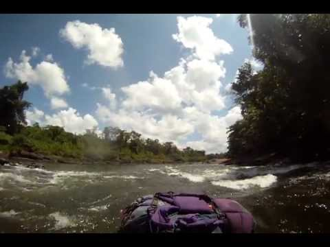 Packrafting the Rio Bocay in Nicaragua