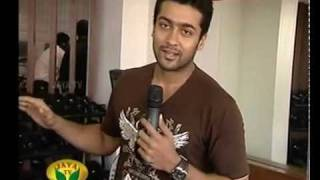Actor Suriya on O2 Health Studio
