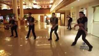 Surprise Flashmob Proposal at Hilton Waikiki Beach -