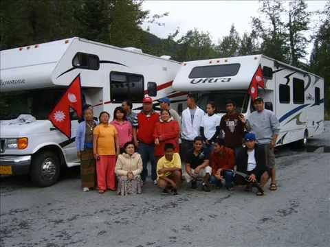 Alaska Nepalese RV Trip