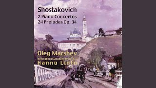 Concerto for piano, trumpet and strings in C minor, op. 35: Moderato