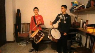 Rufando con el tambor