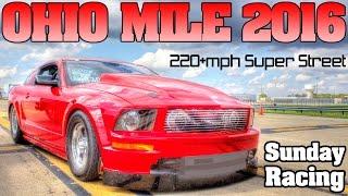 Ohio Mile 2016 ECTA Top Speed Challenge, full event Movie
