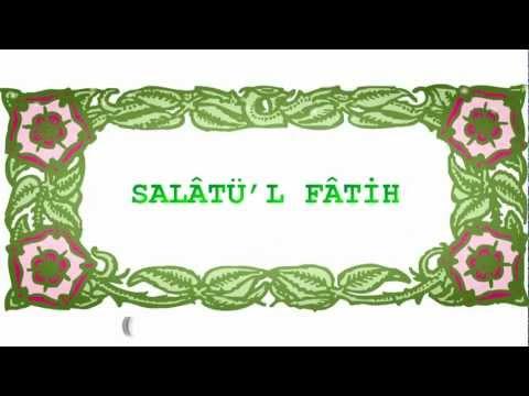 600.000 Salavat Gücündeki Dua - Salâtül Fatih Ömründe bir kere dahi okuyan