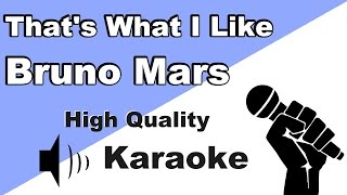 🔴🎤That's What I Like - Bruno Mars - Instrumental/Karaoke Universe HD with lyrics🎤🔴