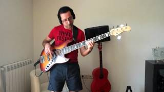 Chained to the rhythm bass cover By Jorge Barbosa