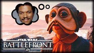 Nien Nunb is Asked About Lando : STAR WARS Battlefront Machinima