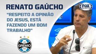 PARA O FLAMENGO, LIBERTADORES É OBRIGAÇÃO? Renato Gaúcho comenta resposta de Jorge Jesus