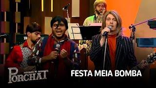 """Paulo Vieira e Pedra Letícia cantam """"Festa Meia-Bomba"""""""