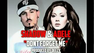 """""""Don't Forget Me""""  Shadow featuring Adele   prod. by Deezy"""