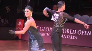 Gloria World Open 2015 Latin Adults Final | Samba - Giacomo Lazzarini & Roberta Benedetti