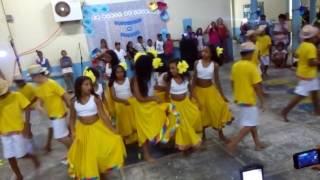 Carimbó do macaco! Na escola Municipal Prof Maria de Lourdes de Castro Ribeiro
