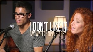 Flo Rida ft.Robin Thicke - I Don't Like It, I Love It - Acoustic Cover by Tay Watts & Nina Storey