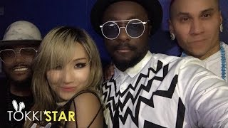 CL preforms with the Black Eyed Peas ? | TokkiStar |