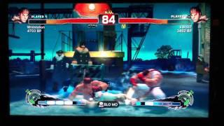 SSFIV Online: WildStalion (Ryu) vs Kaks07 (Ryu)