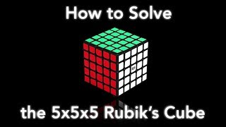 How to Solve the 5x5x5 Rubik's Cube! (simplest way) width=
