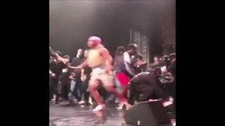 Rapper XXXTENTACION Attacked While Performing, He Responds, Drake Speaks and Riot (VIDEOS & POSTS)