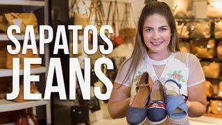 Sapatos jeans -  Moda Na Passarela com: Laura B.