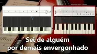 Balada do desajeitado D.A.M.A. Karaoke para flauta Orff Letra Educação Musical José Galvão