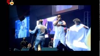 OLAMIDE AND KWAM1 PERFORM TOGETHER ON STAGE