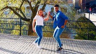 "Junior y Carolina Bachata Baile ""Busco Una Mujer"" Joan Soriano 2018"