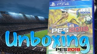 UNBOXING - PES 2018 -  LIVE GAMEPLAY 12/09