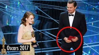 Leonardo DiCaprio Accused of Causing Best Picture Mix-Up at 2017 Oscars with the WRONG Card