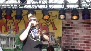 Flobots singing unreleased track IRAQ live