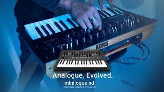 KORG minilogue xd: Analog Evolved