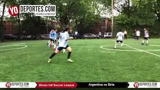 Argentina vs Siria Tercer Lugar Mundialito de Chicago