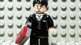 (*Old*) LEGO Iron Man Suit Up Animation Test 1