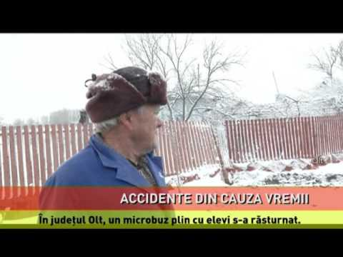 Accidente grave din cauza vremii