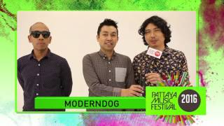 Pattaya Music Festival 2016 : Modern Dog