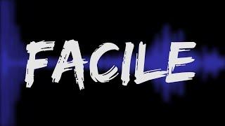 FACILE (orelsan en québécois) [LYRICS VIDEO]