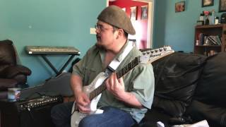 Purple rain cover by my dad