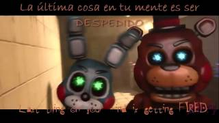 "Five Nights at Freddy's 3 Rap ""Another Five Nights"" Animation Sub. Español"