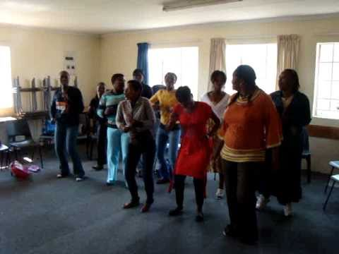 South african ladies doing a dance…