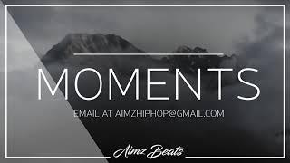 'Moments' Free Emotional Piano Hip Hop Instrumental (Prod. Aimz Beats) Sad Rap Beat